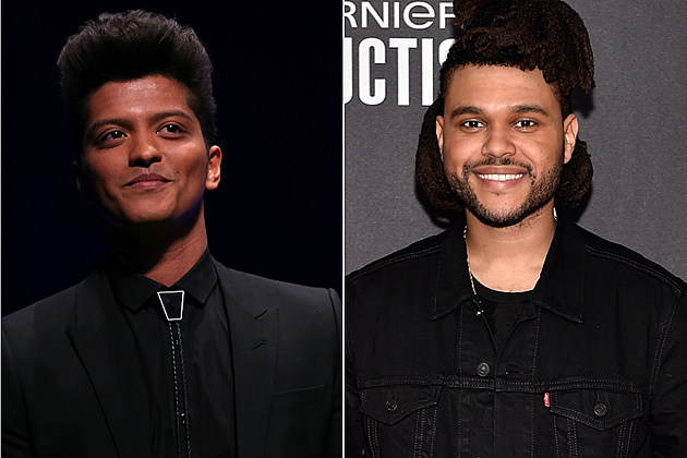Bruno Mars The Weeknd