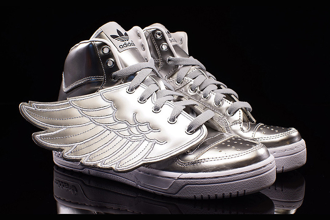 Adidas Silver Wing Shoes
