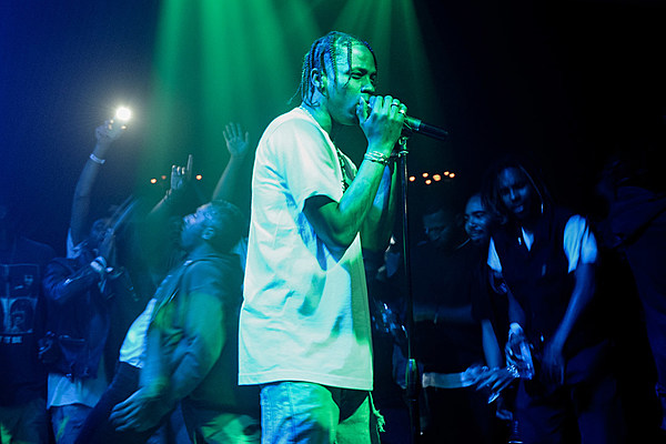 Travi$ Scott and Universal Music Publishing Group Sign Worldwide Deal news