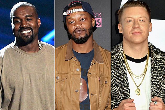 Kanye West BJ Chicago the Kid Macklemore