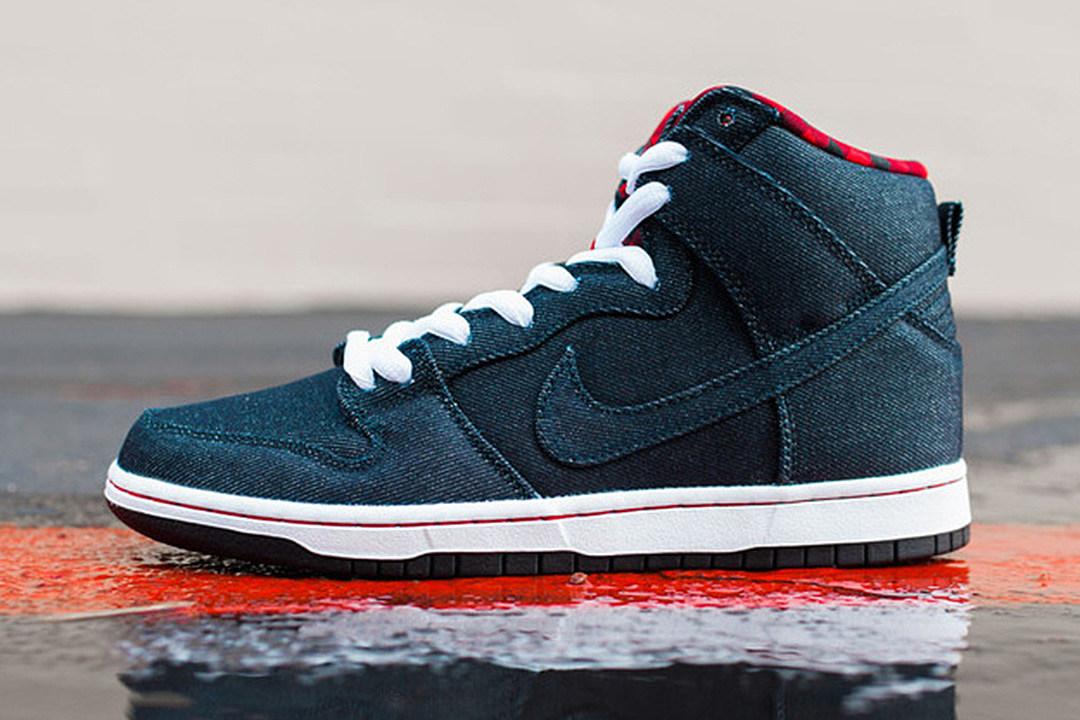Nike SB Dunk Denim Flannel