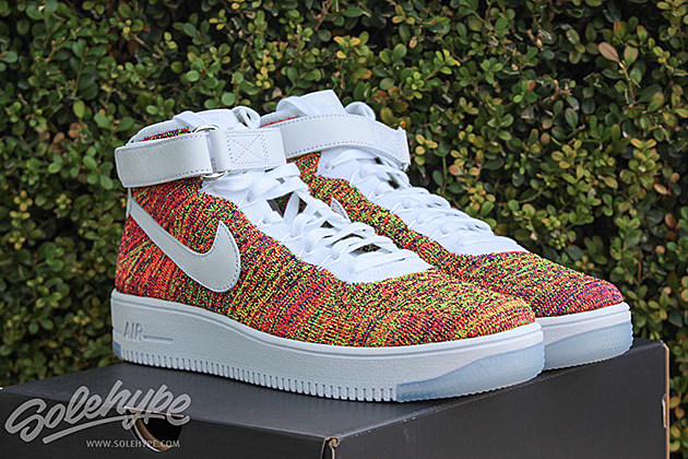 nike air force ultra flyknit mid multicolor