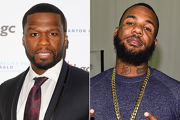 50 Cent and The Game Peacefully Partied Together Under the Same Roof news