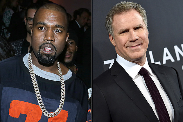 Kanye West Will Ferrell