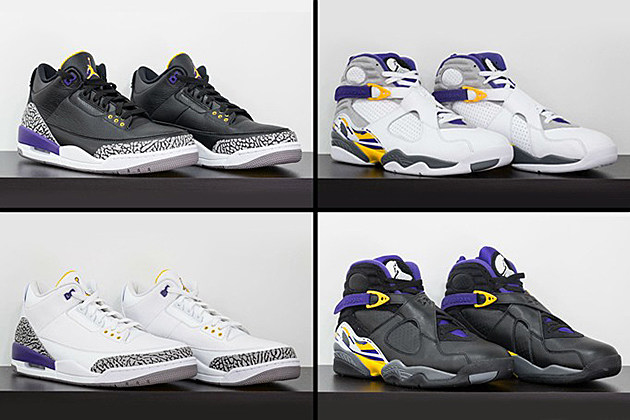 Air Jordan Kobe 3 8 Collection news