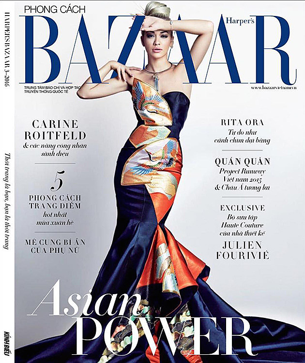 Rita Ora Slays on the Cover of Harper's Bazaar Singapore news