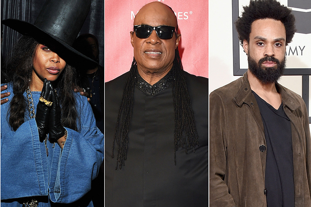 Erykah Badu Stevie Wonder Bilal