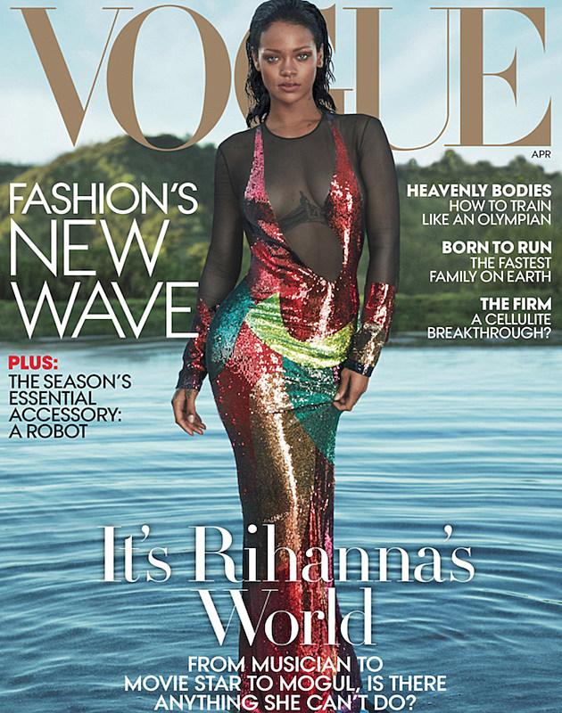 Rihanna Vogue Magazine