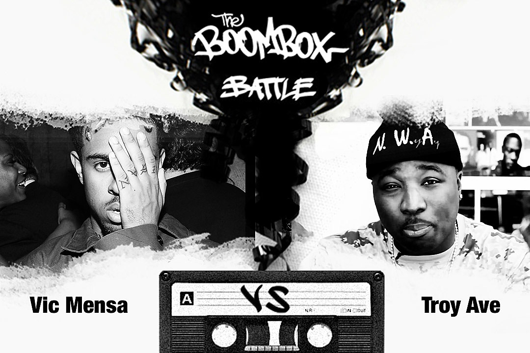 Vic Mensa Troy Ave Battle