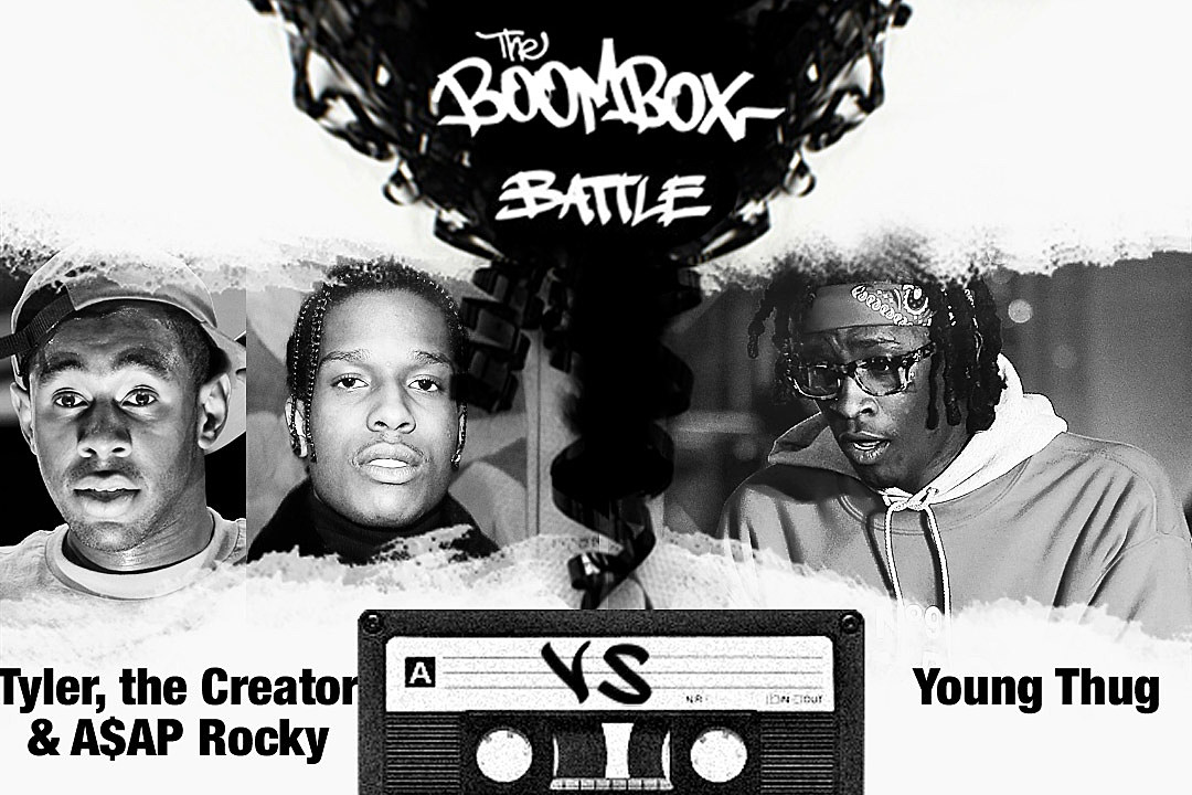 Tyler, the Creator & A$AP Rocky vs. Young Thug — The Boombox Battle news