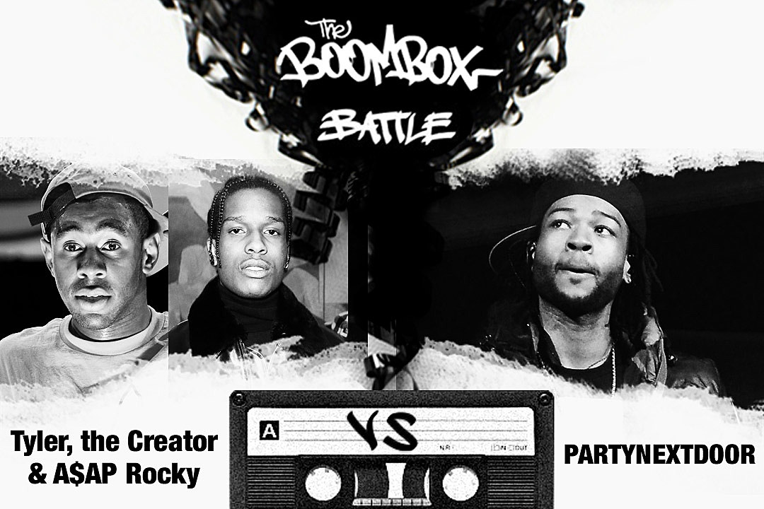 Tyler, the Creator & A$AP Rocky vs. PARTNEXTDOOR — The Boombox Battle news