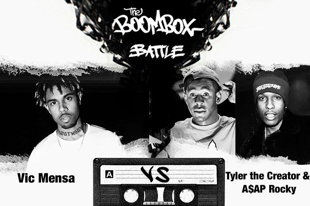 Vic Mensa vs. Tyler, the Creator & A$AP Rocky — The Boombox Battle news