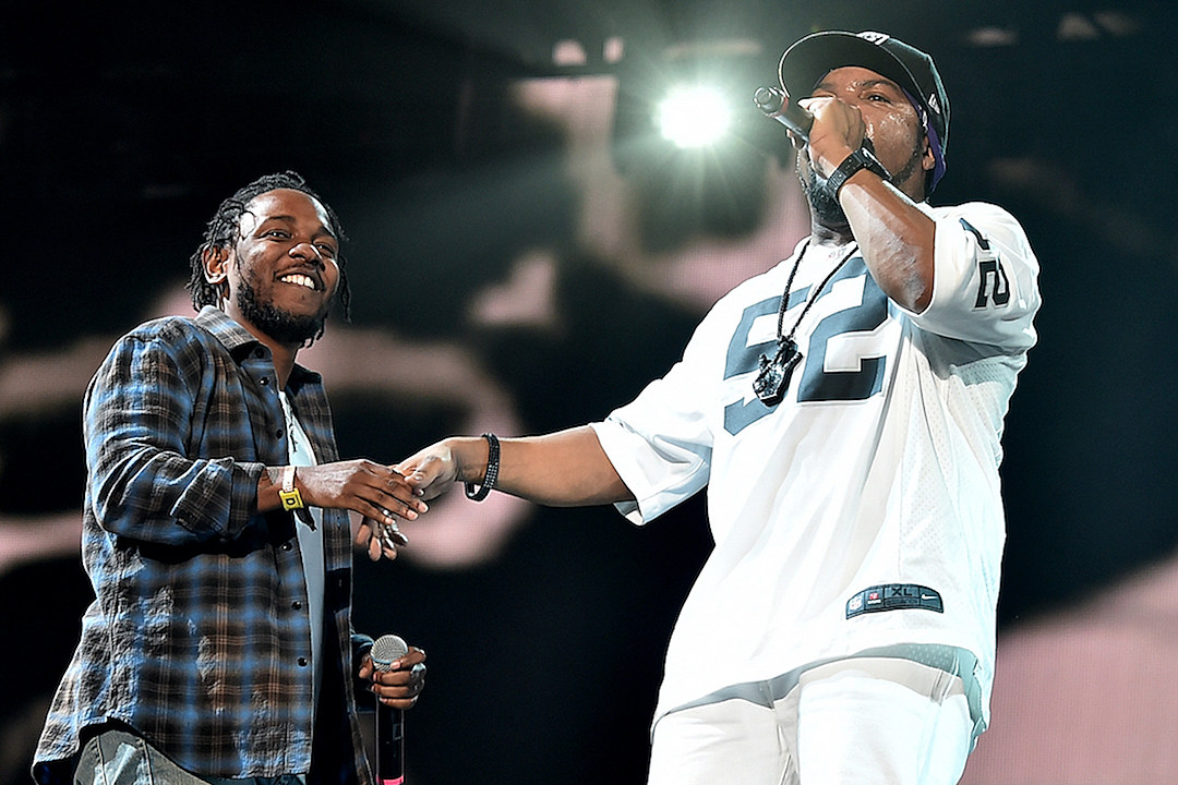 Ice Cube Fully Reunites N.W.A, Brings Out Kendrick Lamar at Coachella 2016 [PHOTO] news