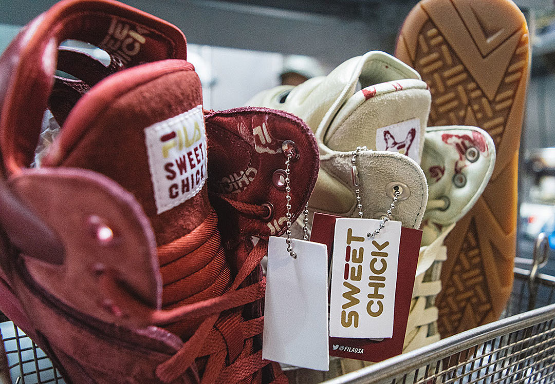 Sweet Chick x Fila Cage news