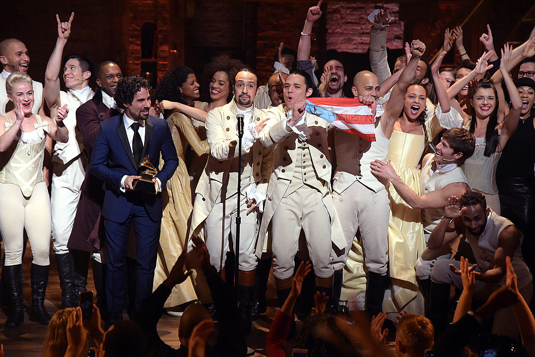 'Hamilton' Makes History With Record Setting 16 Tony Award Nominations news
