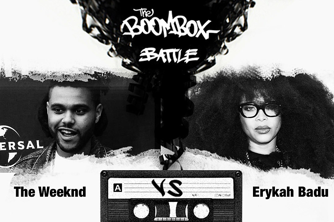 The Weeknd vs. Erykah Badu — The Boombox Battle news