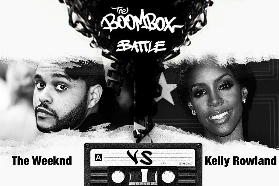 The Weeknd vs. Kelly Rowland — The Boombox Battle news
