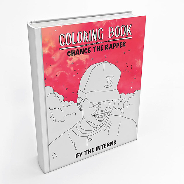 Chance the rapper 39 s celebrated mixtape is now an actual Coloring book 2 chance the rapper