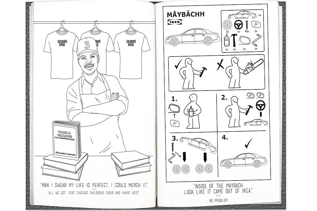 Chance the Rapper's Celebrated Mixtape Is Now an Actual 'Coloring Book' news