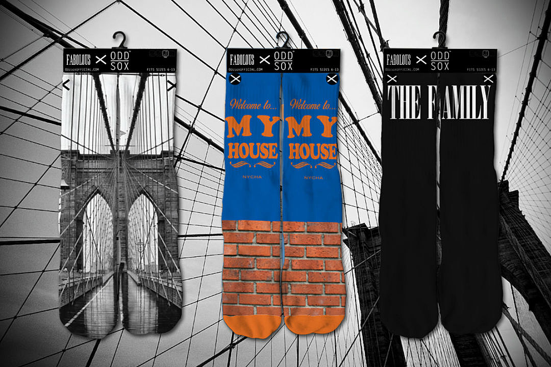 Fabolous Teams Up With Odd Sox to Launch Sock Collection news