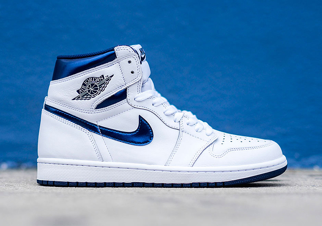 air jordan 1 retro high og metallic navy. Black Bedroom Furniture Sets. Home Design Ideas