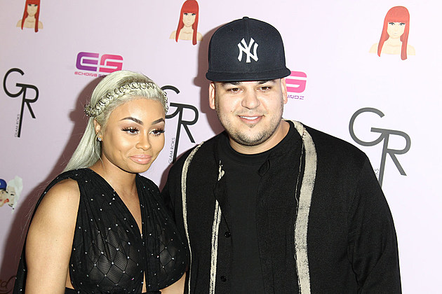 Blac Chyna and Rob Kardashian Celebrate Her Birthday and Chymoji App In Hollywood news