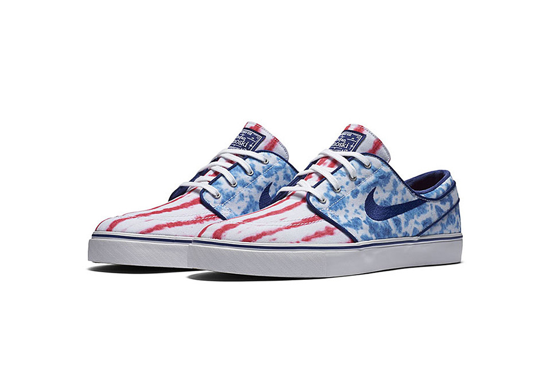 nike sb zoom stefan janoski 39 us flag 39. Black Bedroom Furniture Sets. Home Design Ideas