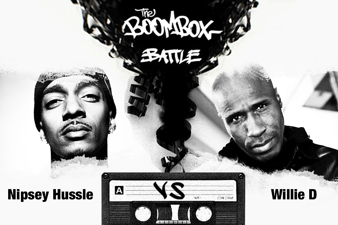Nipsey Hussle vs. Willie D — The Boombox Battle news