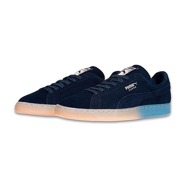The Puma Suede is a style icon. Originally designed as a basketball shoe in the 70's, the model exploded in the 80's when hip-hop legends like the Beastie Boys and MC Shan rocked the sneaker. Today, the Puma Suede is heralded for it's timeless look and variety of styles.