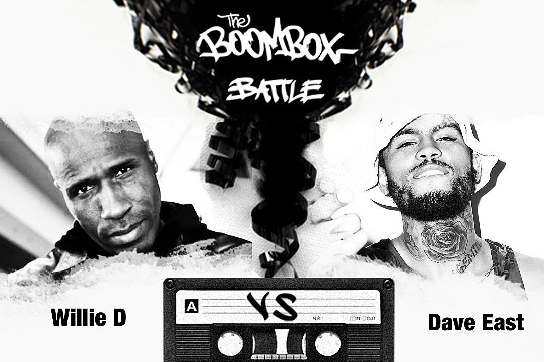 Willie D vs. Dave East — The Boombox Battle news