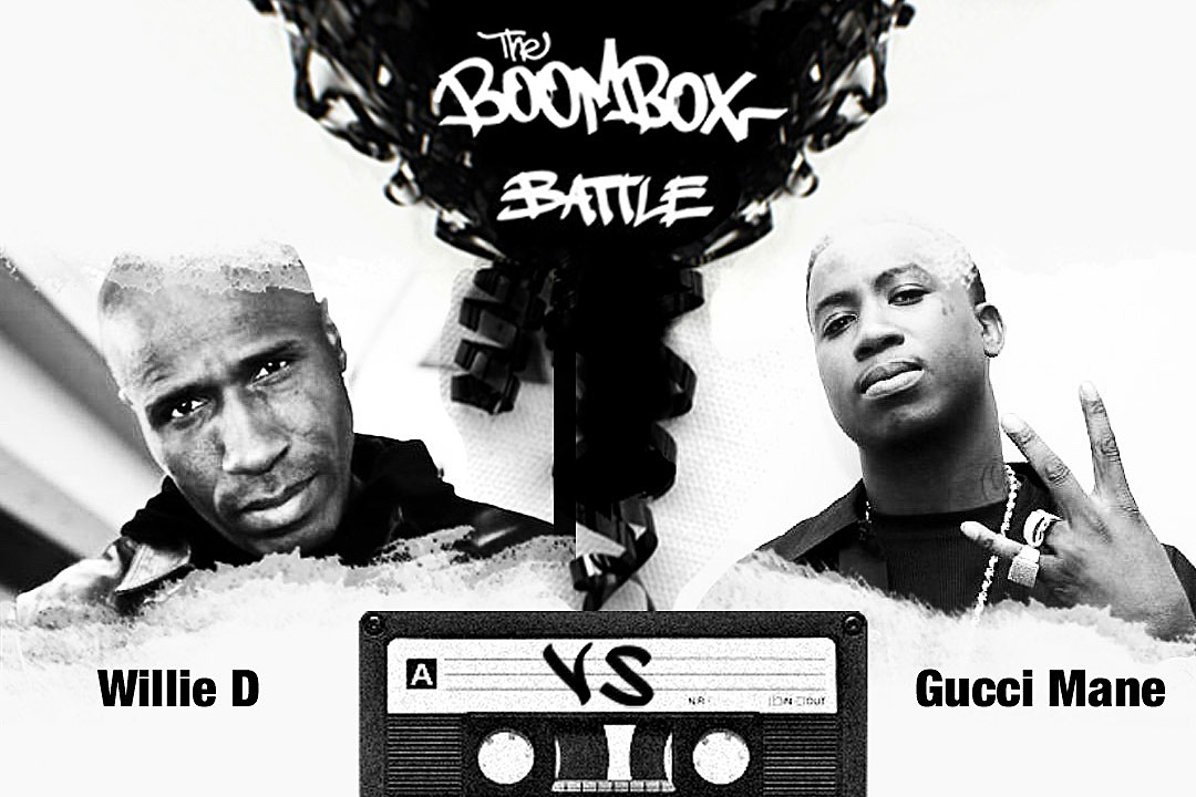 Willie D vs. Gucci Mane — The Boombox Battle news