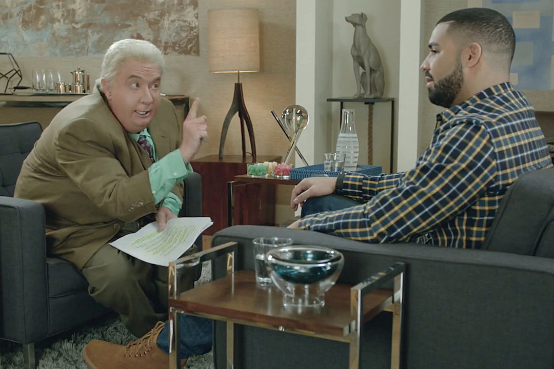 Drake Finds Himself In a Bizarre Interview With Jiminy Glick [VIDEO] news