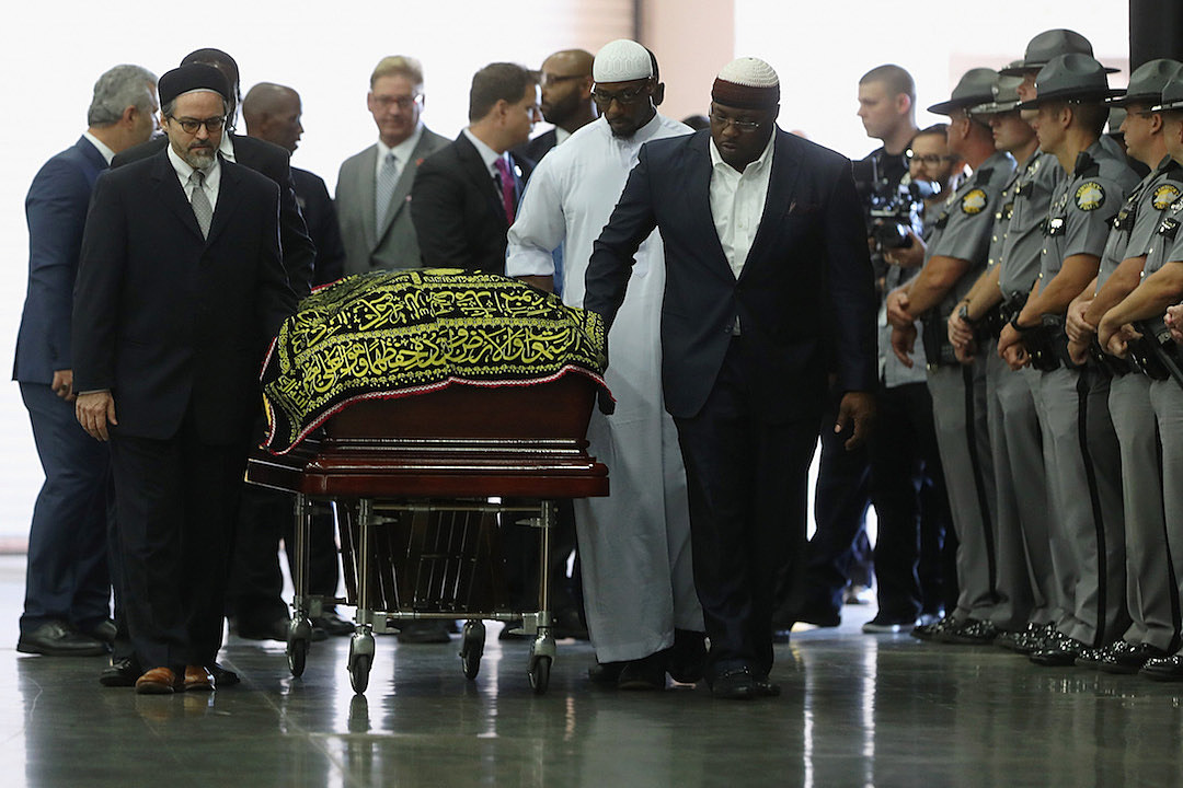 Islamic Funeral Prayer Program Held For Muhammad  Ali
