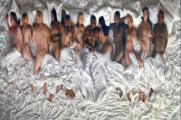 "Jimmy Kimmel Joins the Internet in Shading Kanye West's ""Famous"" Visual news"