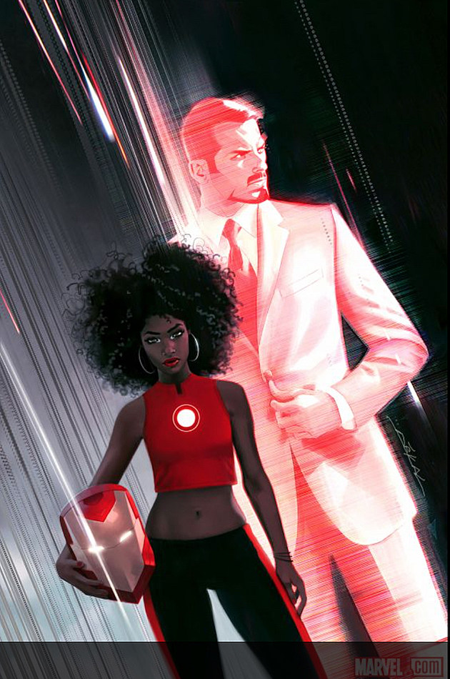 Marvel's New Iron Man Is a Black Girl, and We Think It's Fantastic news