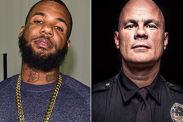 The Game and His Son Raise More Than $40K for Arkansas Police Officer news