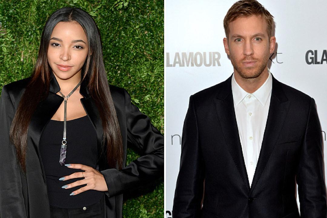 Tinashe Films Music Video in Malibu As Calvin Harris Dating Rumors Heat Up news