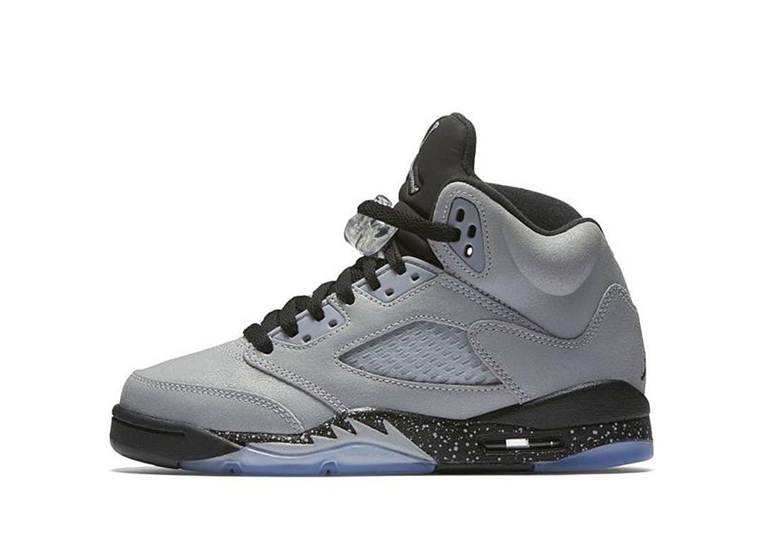 Air Jordan 5 GS Wolf Grey | 1080 x 783 jpeg 72kB