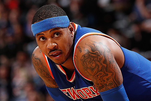 Carmelo Anthony Responds to Police Violence, Encourages Athletes to 'Step Up and Take Charge' news