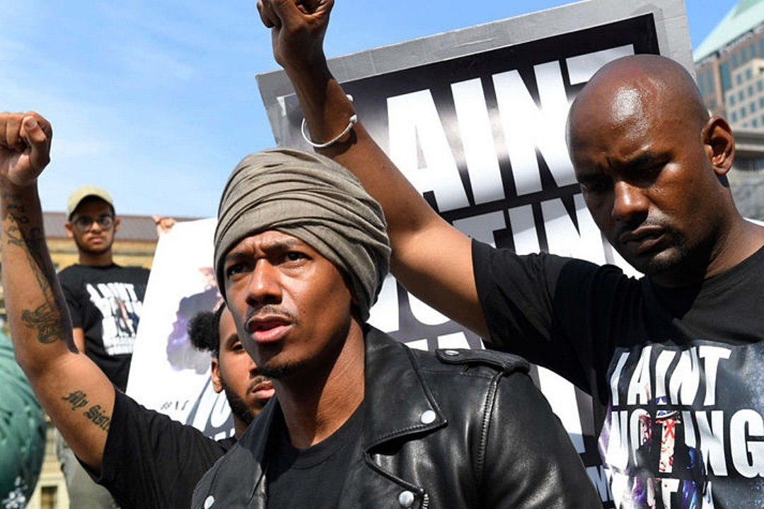 Nick Cannon So Woke; Star Protests RNC While Rocking a Turban news