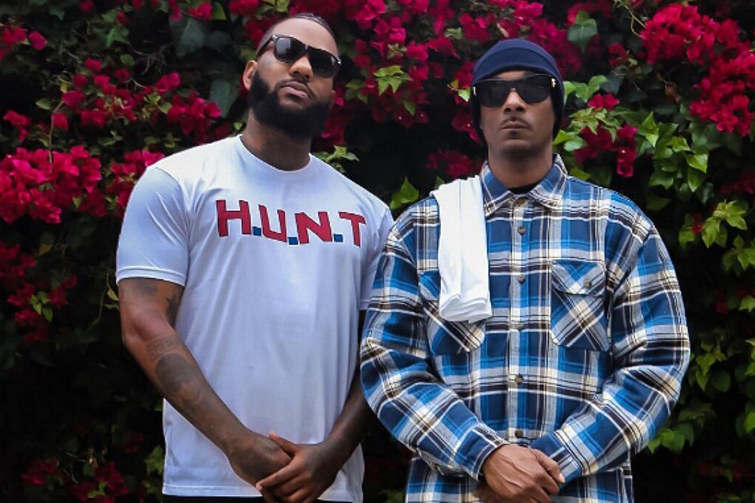 The Game and Snoop Dogg Lead Peaceful March at LAPD Headquarters news