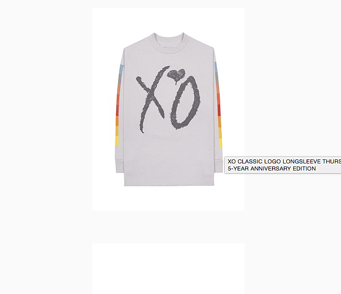 The Weeknd Celebrates 'Thursday' 5 Year Anniversary with Limited Edition Capsule Collection news