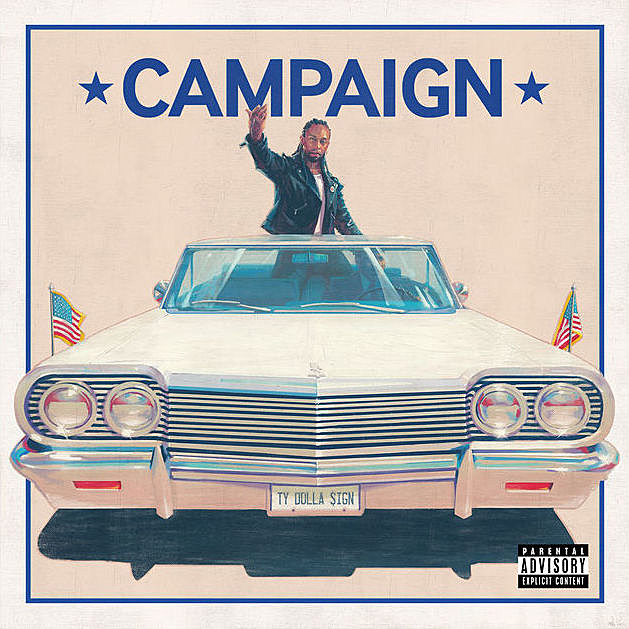 Ty Dolla $ign Reveals Album Art and Full Tracklist for 'Campaign' news