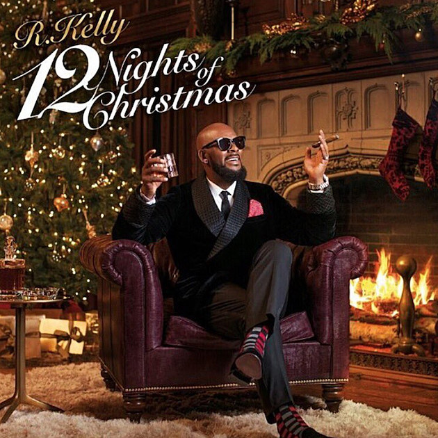 R. Kelly Prepping Holiday Album '12 Nights of Christmas', Unveils Cover Art news