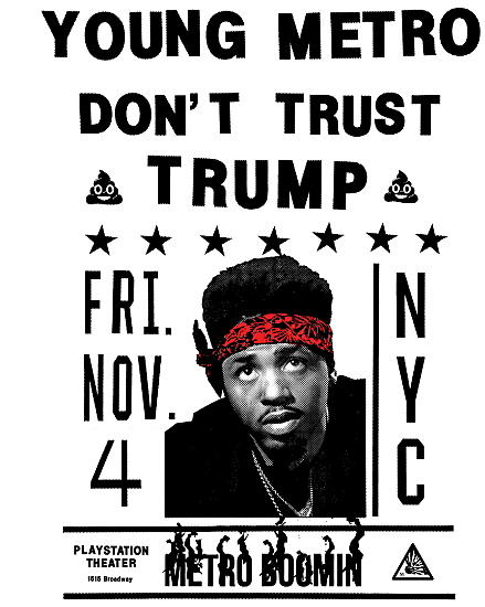 Metro Boomin to Throw 'Young Metro Don't Trust Trump' Concert in November news