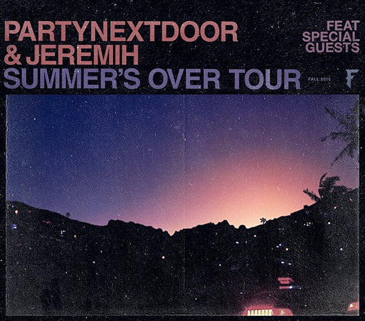 Jeremih and PARTYNEXTDOOR Announce 'Summer's Over' Tour news