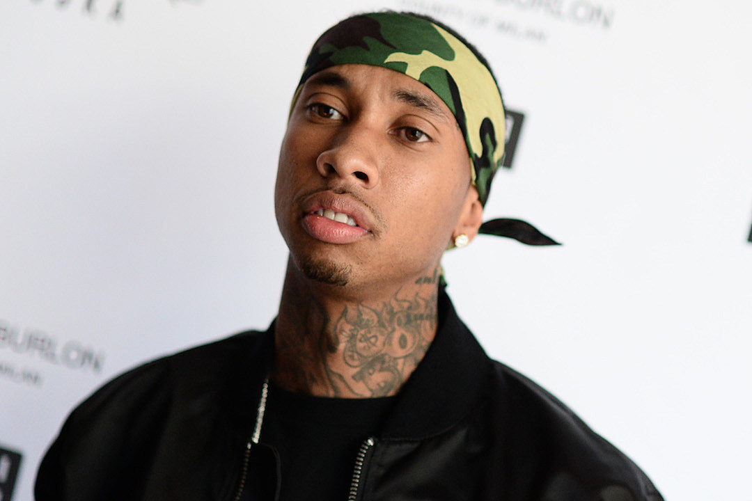Tyga's Ferrari Repossessed As He Shops for a Bentley news