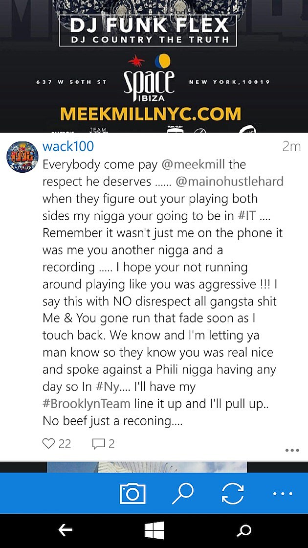 The Game's Manager Wack 100 Is Coming at Maino's Neck news