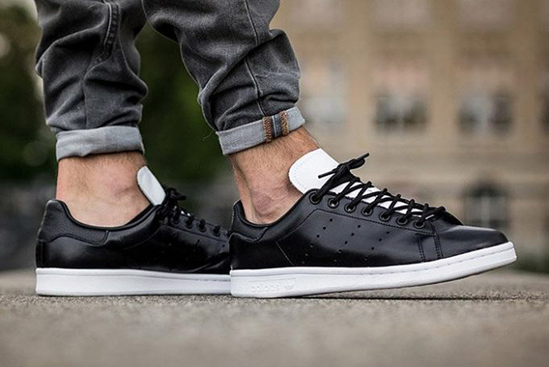 adidas stan smith core black. Black Bedroom Furniture Sets. Home Design Ideas