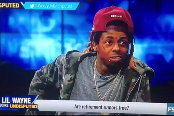 Lil Wayne to Tell the World if He's Really Retiring on 'Undisputed' With Skip Bayless news